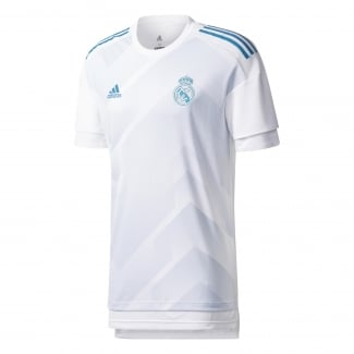 Real Madrid Home Mens Pre-Match Jersey 2017/2018