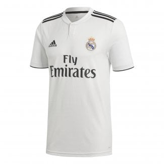 Real Madrid Home Mens Short Sleeve Jersey 2018/2019