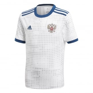 Russia Away Junior Short Sleeve Jersey 2018