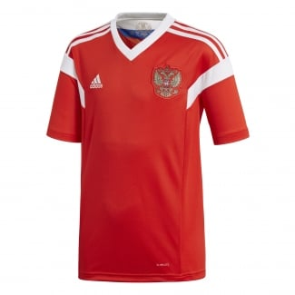 Russia Home Junior Short Sleeve Jersey 2018