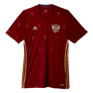 Russia Home Mens Short Sleeve Jersey 2016