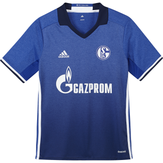 Schalke 04 Home Junior Short Sleeve Jersey 2016/2017
