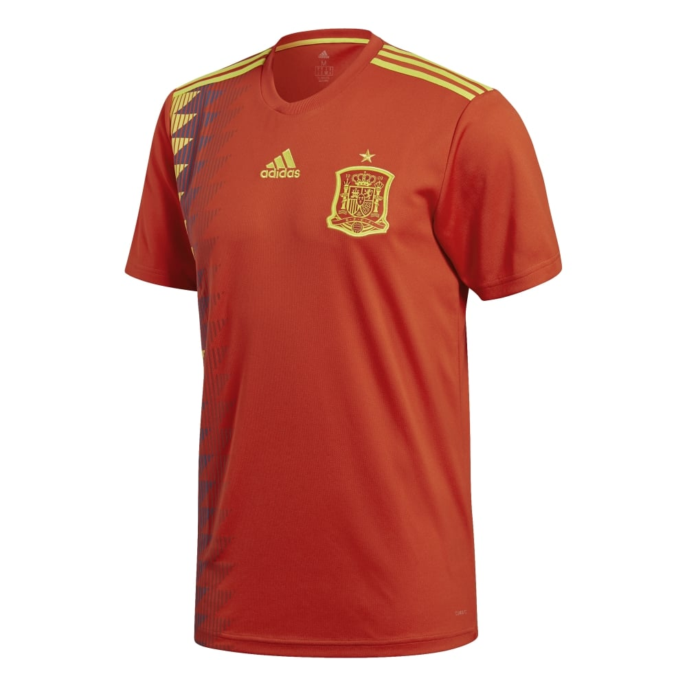 Spain Home Football Socks Mens 2019-21