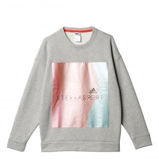 STELLASPORT Womens Metallic Sweatshirt