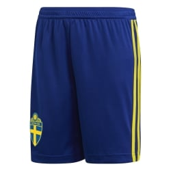 Sweden Junior Home Shorts 2018