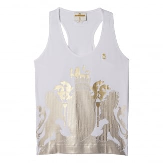 Team GB by Stella McCartney Womens Gold Tank