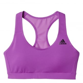 Womens 3-Stripes Racerback Bra