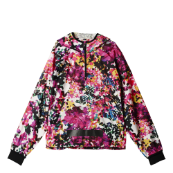 Womens All-Over Print 1/2 Zip Windbreaker