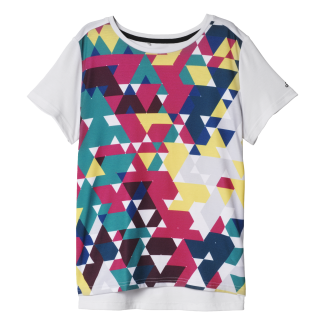 Womens Boxy All Over Print Tee