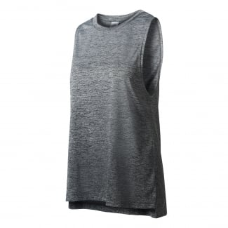 Womens Boxy Mélange Tank Top
