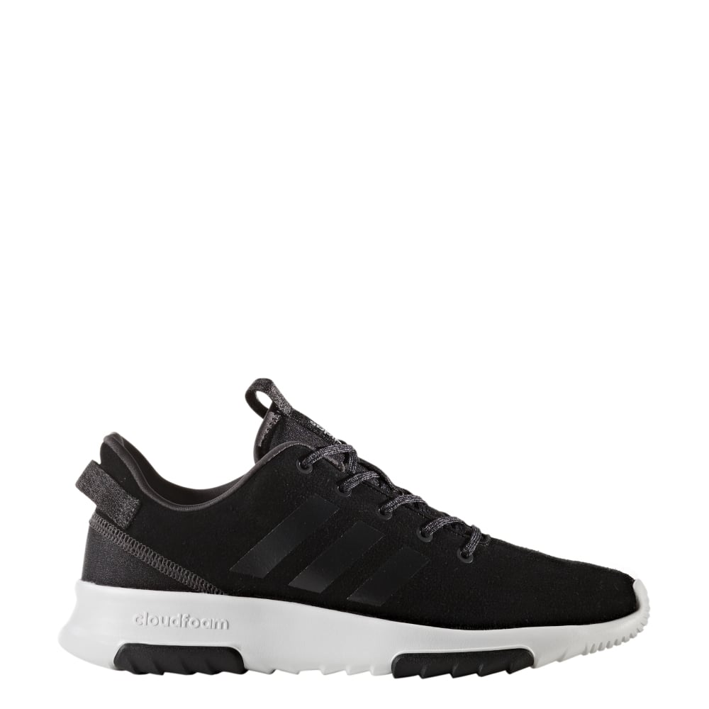 a2aeeaeb6c79 adidas Womens Cloudfoam Racer TR in Black