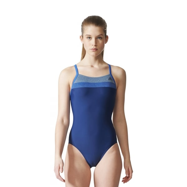 adidas Womens Colorblock Swimsuit