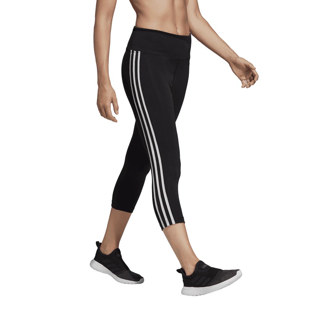 Adidas Womens Design 2 Move High Rise 3 Stripes 34 Tight