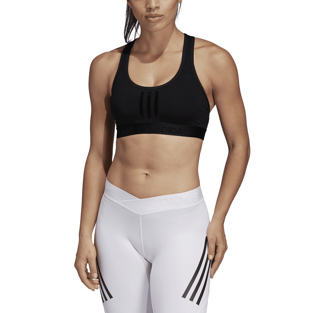 31f50592a3a11 Adidas Womens Don t Rest Alphaskin Tech 3-Stripes Bra - Adidas from ...