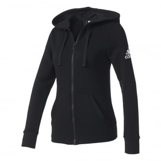 Womens Essentials Solid Hoodie