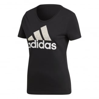 Womens Foil Badge of Sport Tee