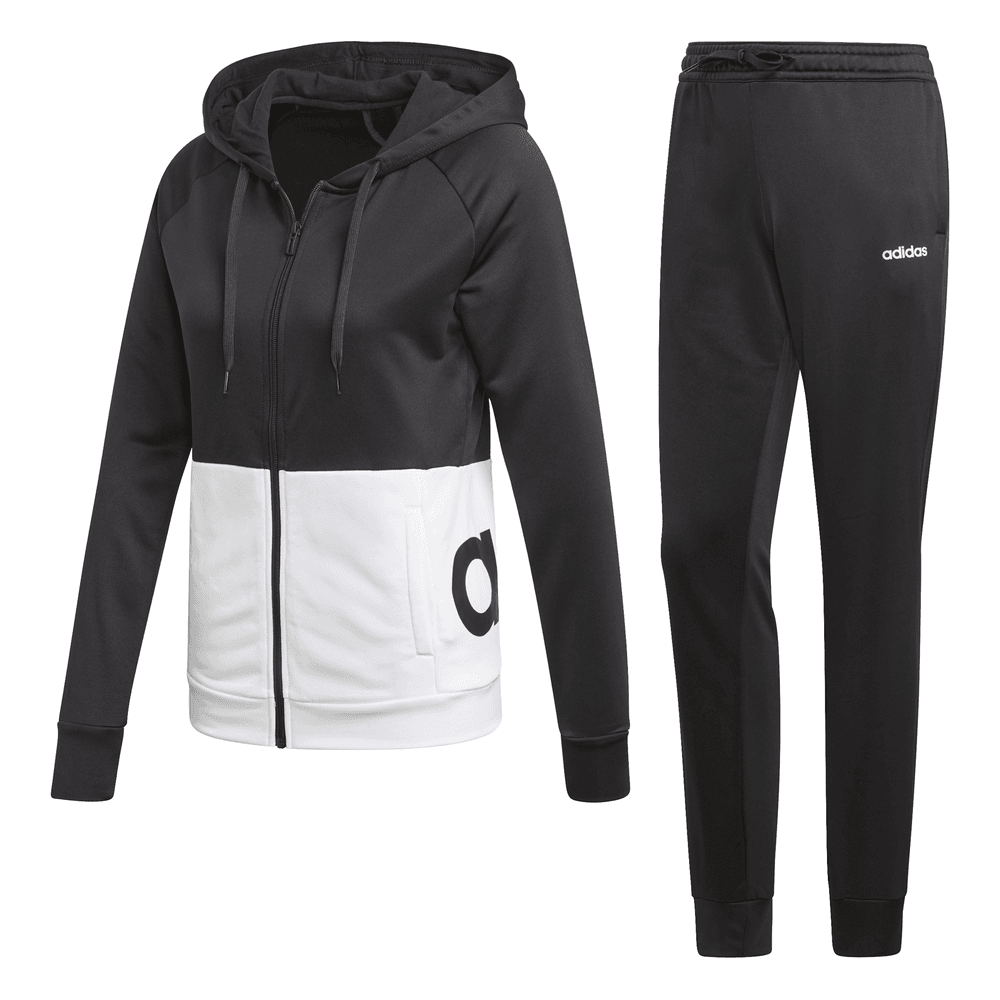 Astrolabio auge editorial  Adidas Womens Linear Hoodie French Terry Track Suit - Women from Excell  Sports UK