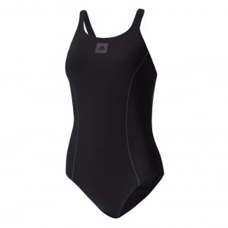 Womens Solid Support Swimsuit