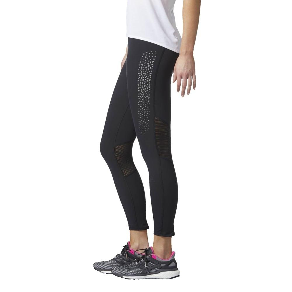 4cbda340e90c3 adidas Womens Supernova 7/8 Printed Tight in Black | Excell Sports UK