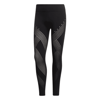 Womens Warp Knit High-Rise 7/8 Tights