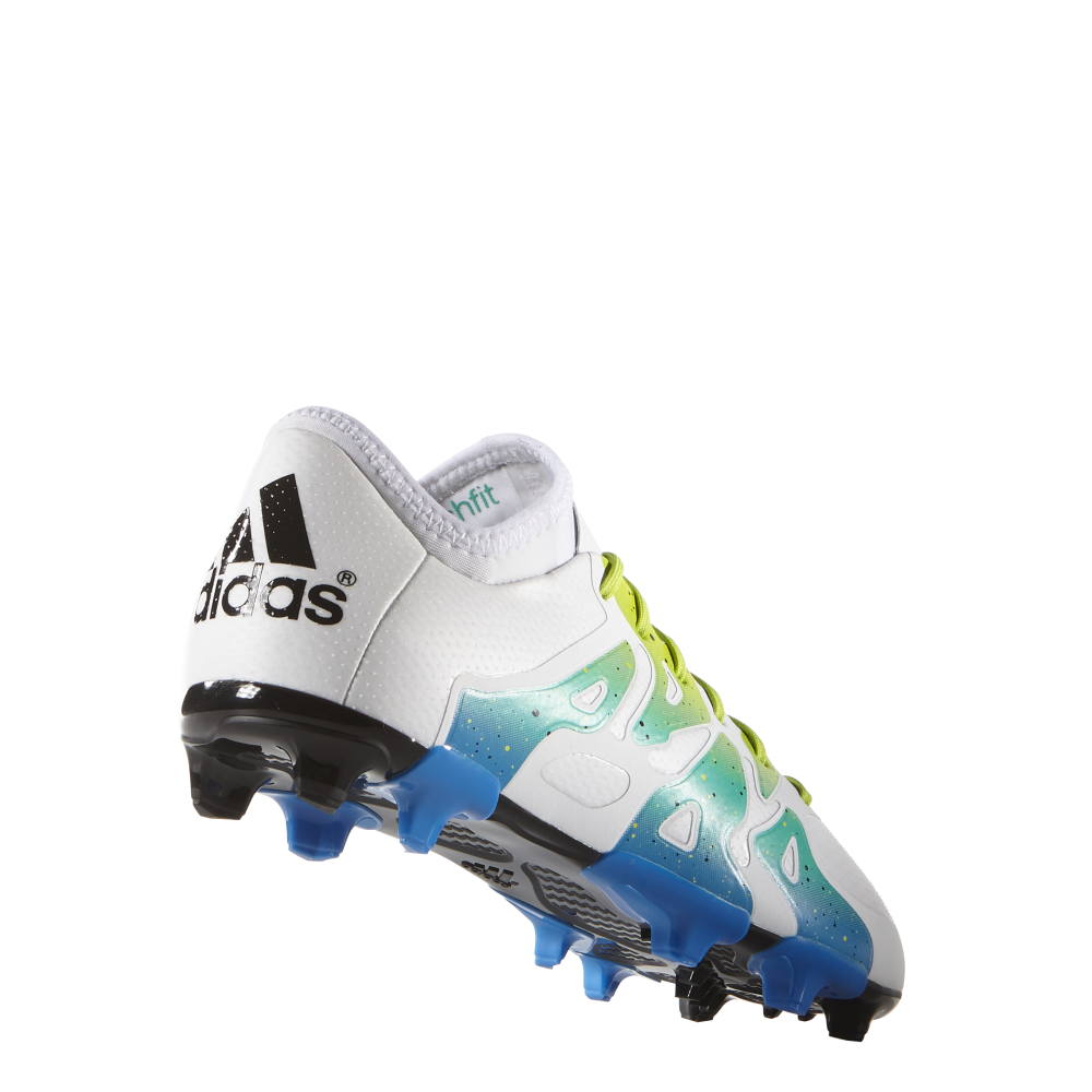 adidas x 15 1 junior fg ag sizes 3 5 5 in white excell sports uk. Black Bedroom Furniture Sets. Home Design Ideas