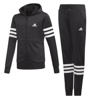 Youth Girls Hooded PES Tracksuit