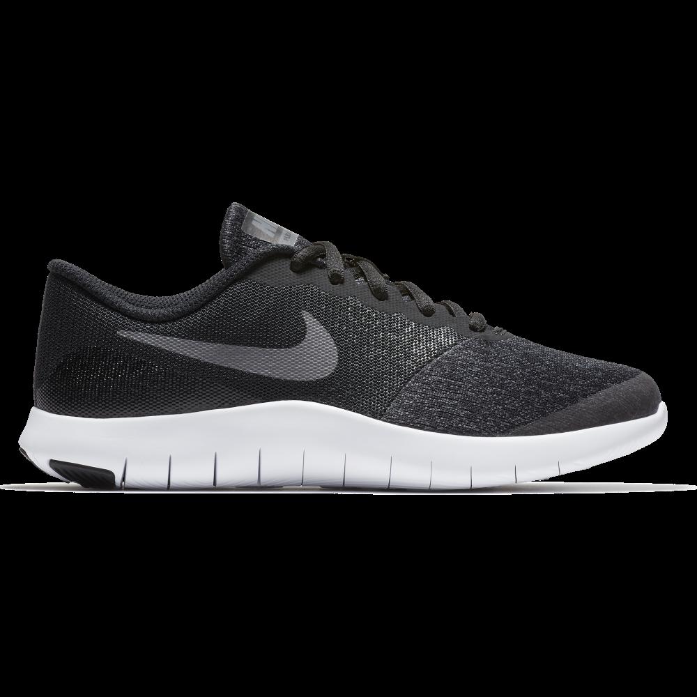 Nike Boys' Nike Flex Contact Running Shoe in Black