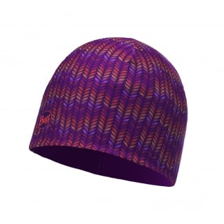 Kids Microfiber and Polar Deep Grape Hat