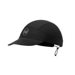 R-Solid Black Pack Run Cap