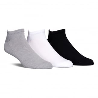 Mens Coolmax 3-Pack Ankle Socks
