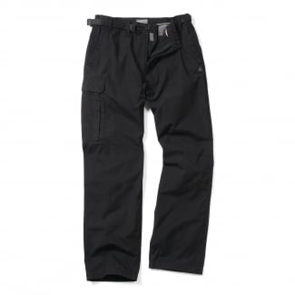 Men's Black Classic Kiwi Trousers