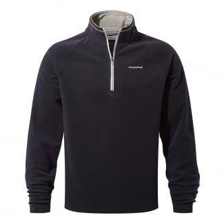 Men's Selby Half Zip Dark Navy Fleece