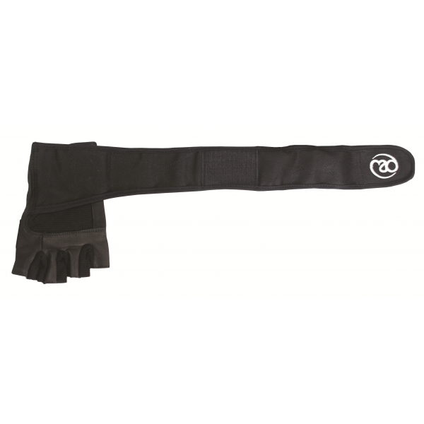 Excel Fitness Gloves: Fitness Mad Weight Lifting Gloves With Wrist Wrap In Black