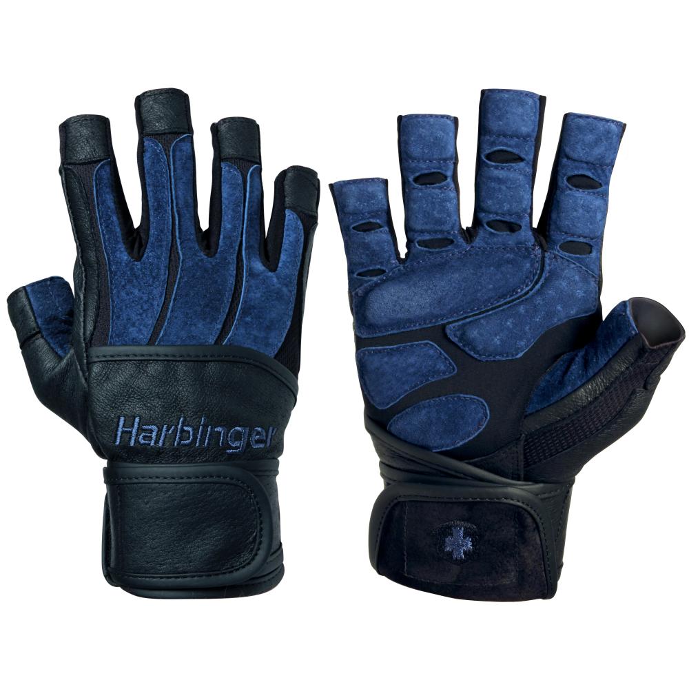 Excel Fitness Gloves: Harbinger Mens Bioform Gloves In Grey/Black