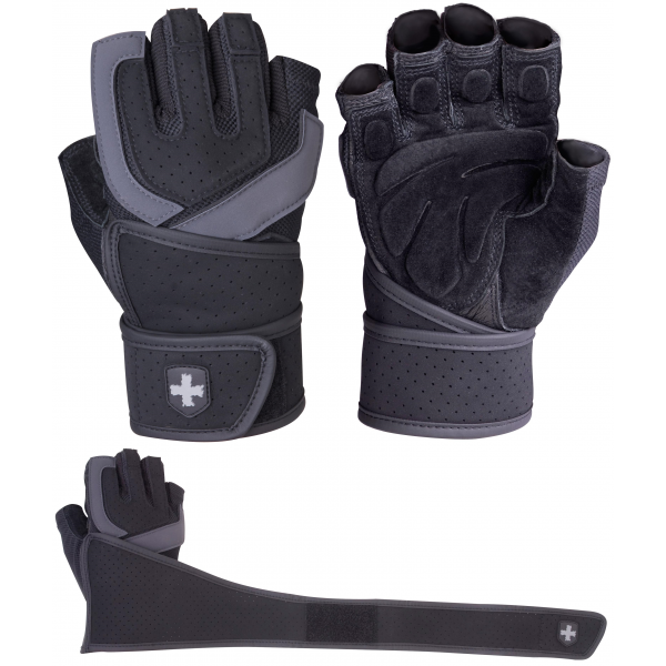 Harbinger Mens Training Grip Series Gloves