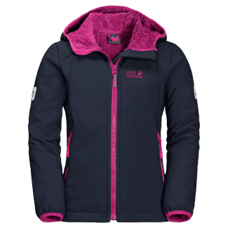 Girls Kissekatt Softshell Jacket