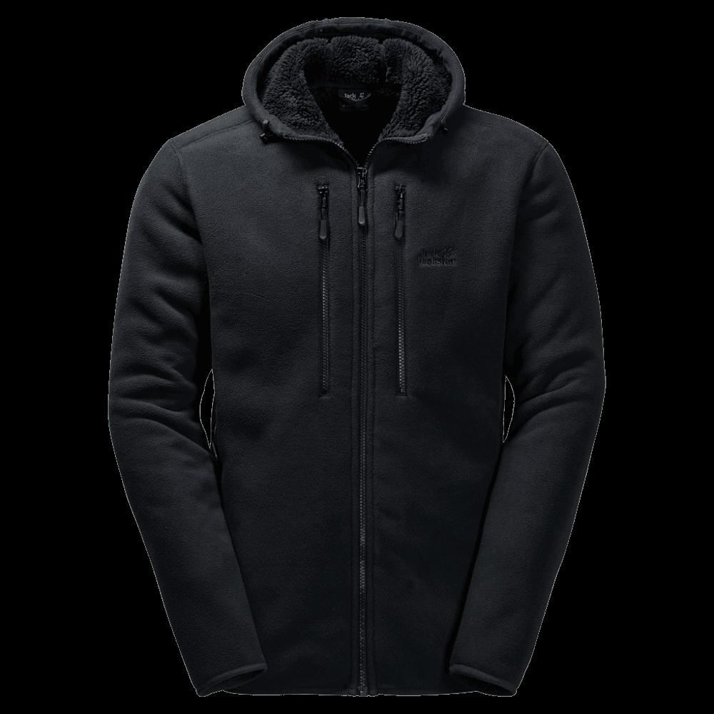 412380b5b1 Jack Wolfskin Men's Westfjord Jacket in Black | Excell Sports UK