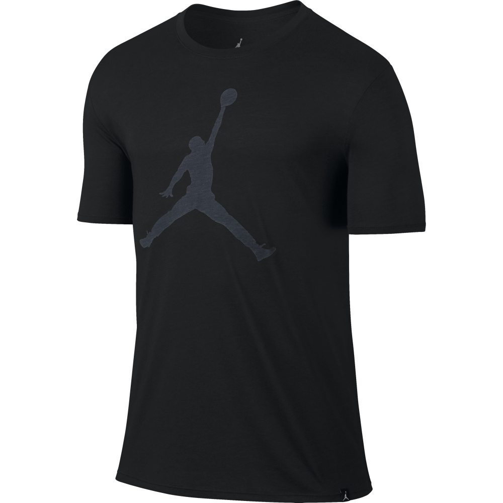 4011f21d396a Jordan Mens Iconic Jumpman Logo T-Shirt in Black