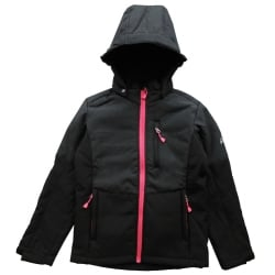 Lulu Girls Hooded Softshell