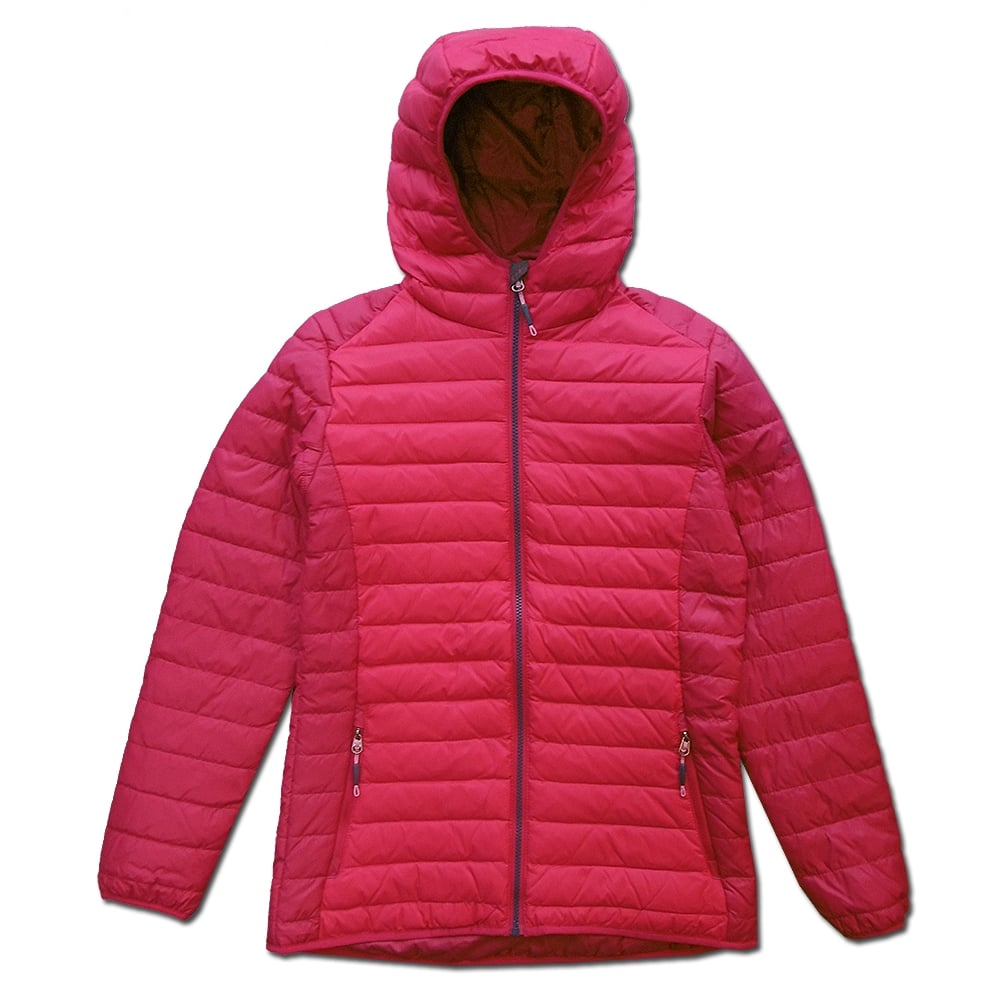 e2bf90a5acd161 McKinley Tetlin Women's Padded Jacket in Wine | Excell Sports UK