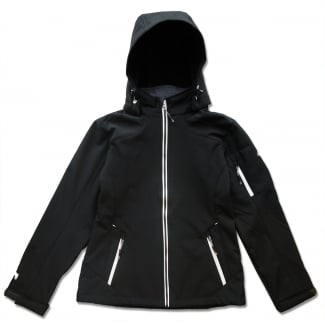 Tura Womens Hooded Softshell