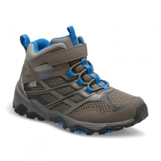 Boys Moab FST Mid A/C Waterproof Breathable Walking Boots