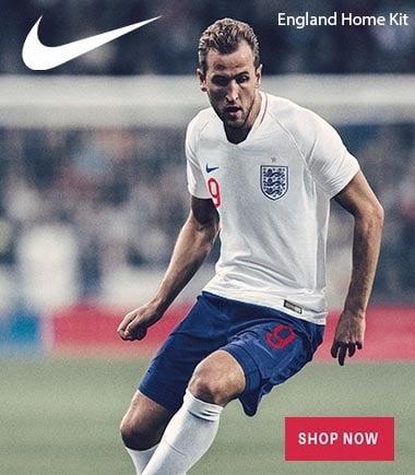 Nike England World Cup Kit
