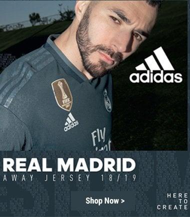 Adidas Real Madrid Away Kit 2018/19
