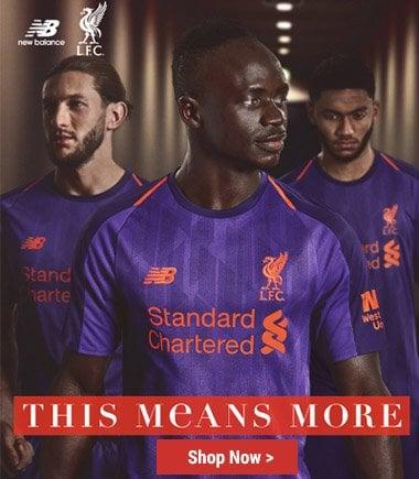 New Balance Liverpool FC Away Kit 2018/19