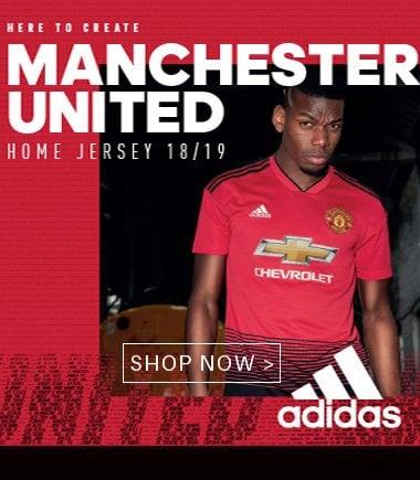 Manchester United 2018/2019 kit