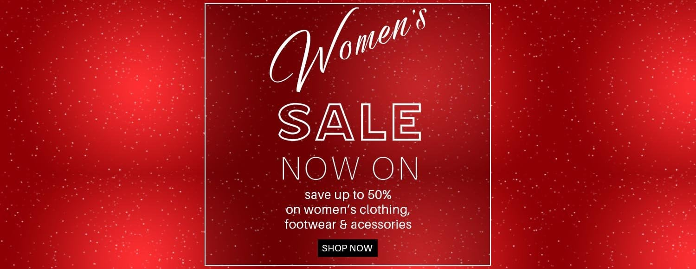 Womens Sale Banner