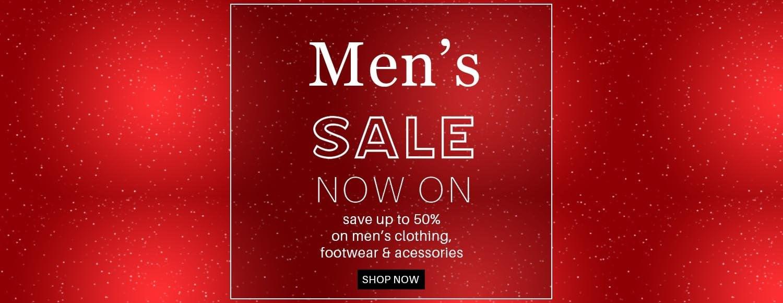 Mens Sale Banner