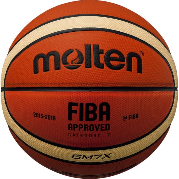 Molten FIBA Approved New X PU Leather Basketball