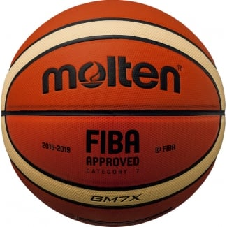 FIBA Approved New X PU Leather Basketball